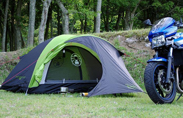 バイクツーリングを楽しみたい人におすすめのテントはこれ!のサムネイル画像