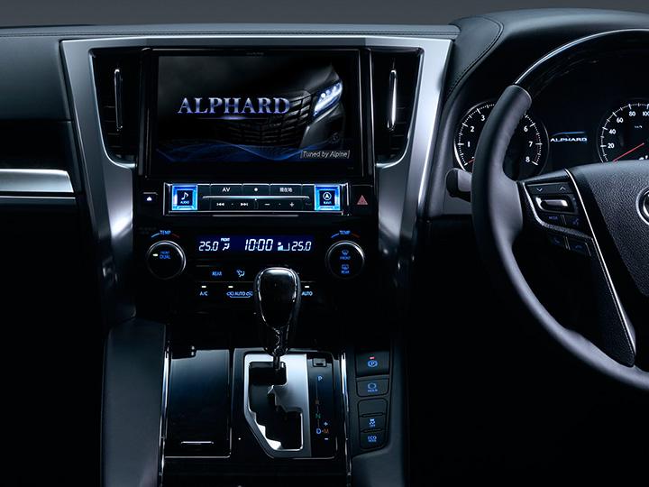 車種専用カーナビが豊富なアルパインのカーナビを紹介します。のサムネイル画像