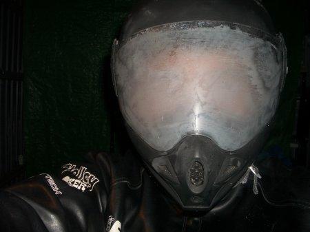 うっとおしいヘルメットの曇りを何とかしたい!有効な曇り止めは?!のサムネイル画像