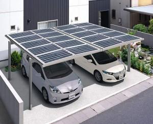 カーポートに、太陽光発電を取り入れて見るのはいかがでしょう?のサムネイル画像