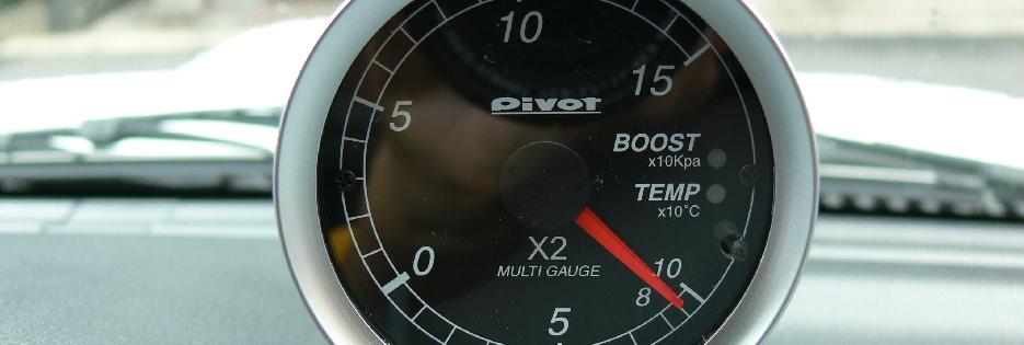 自分の車に社外のかっこいいブースト計取り付けてみませんか?のサムネイル画像