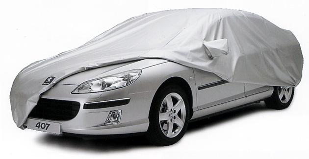青空駐車の車にボディカバーをかぶせて車を紫外線から守りましょう!のサムネイル画像