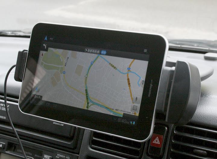 車内でタブレットが使いたい!車載用タブレットホルダーまとめのサムネイル画像