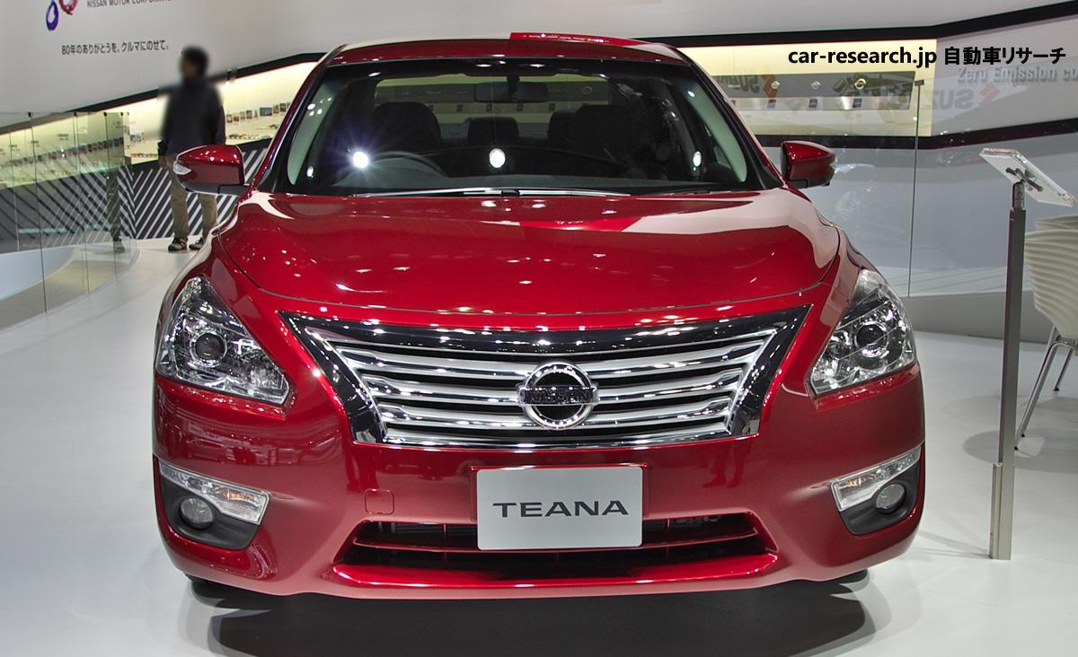 日産から発売の、大人な車!日産・ティアナのカスタムパーツまとめのサムネイル画像