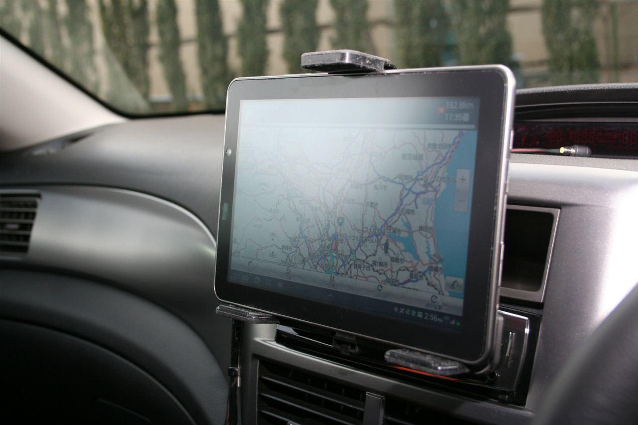 地図は自動更新!タブレットをカーナビ代わりに活用してみよう!のサムネイル画像