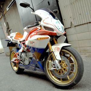 愛するバイクを更にカッコよくするにはカウルの塗装がおすすめ!の画像